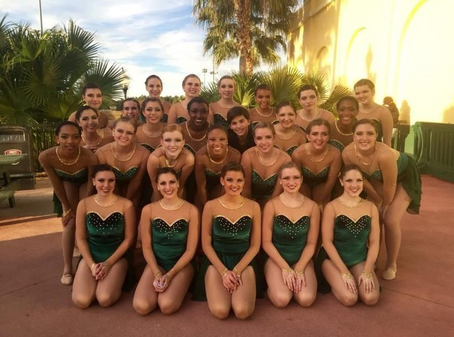 The team was one of the six teams that competed in the jazz division.