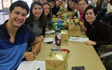 Top ten seniors impress audiences at Honor Roll Luncheon