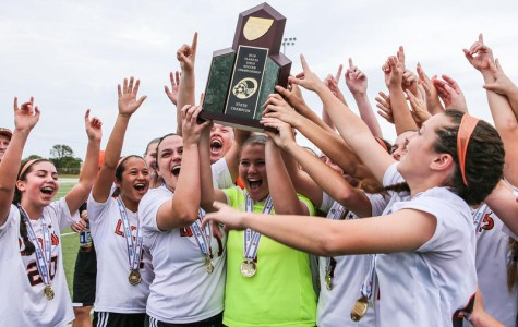 Girls soccer wins state title