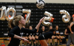 Senior night for girls' volleyball shows team's dominance