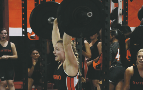 Girls push abilities to lift more weight