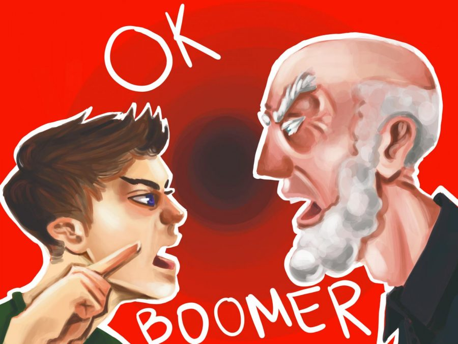 'OK, Boomer' fuels generational debate on campus