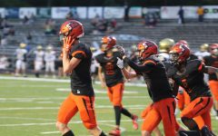 Varsity football adjusts to safety protocols