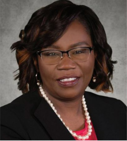 Serita Beamon, the new superintendent, is pictured above.